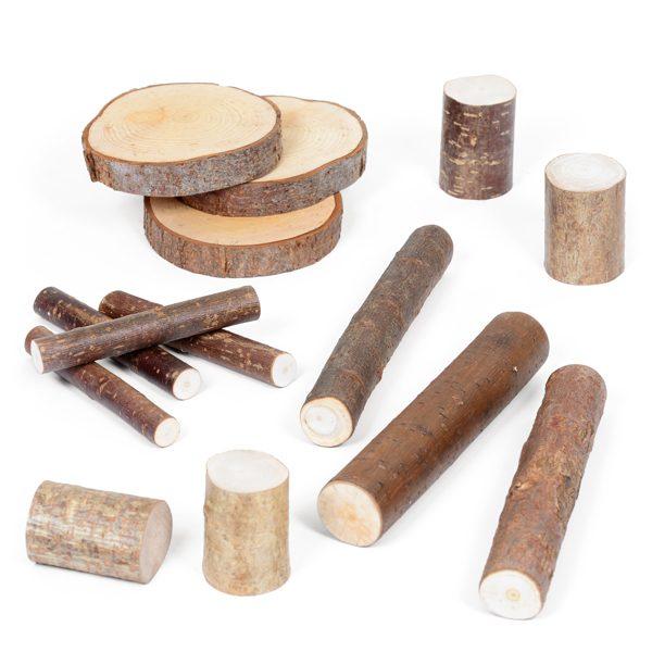 Set of Natural Logs & Poles