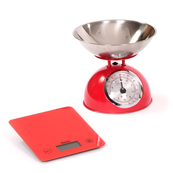 Set of Weighing Kitchen Scales