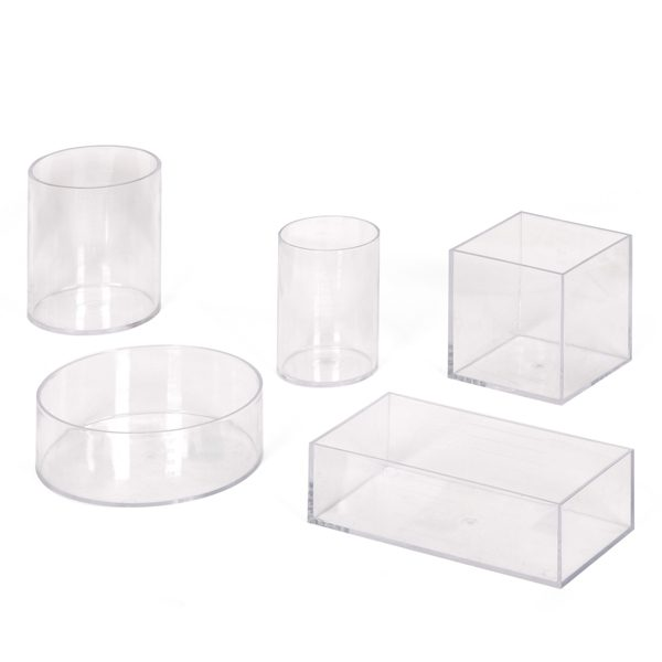 Perspex Litre Measurement Set