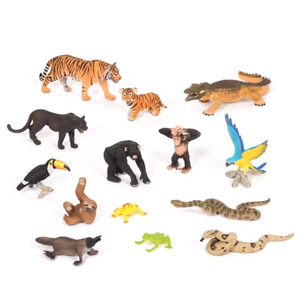 Jungle Animals Collection KS1