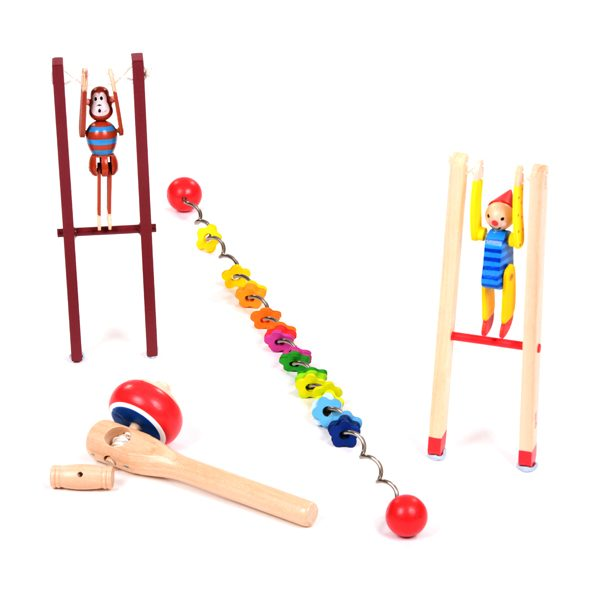 Set of Moving Toys