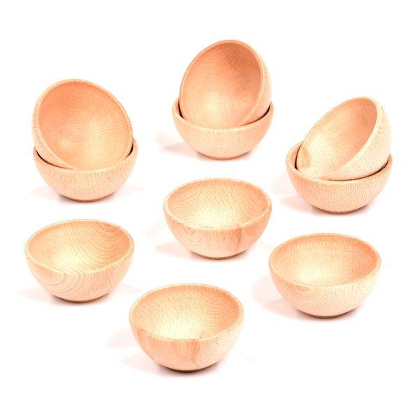 Set of 10 Small Bowls