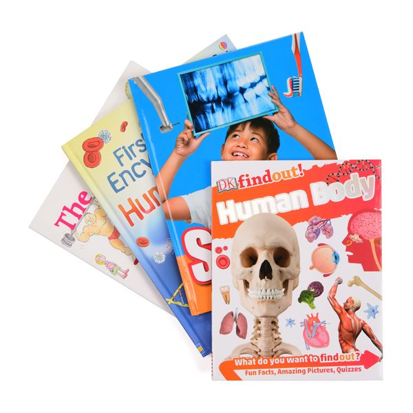 human body book set