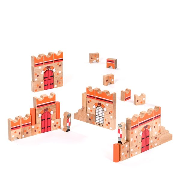 Wooden Castle Building Blocks