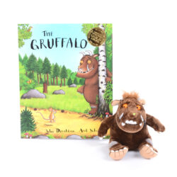 The Gruffalo Book & Character Set