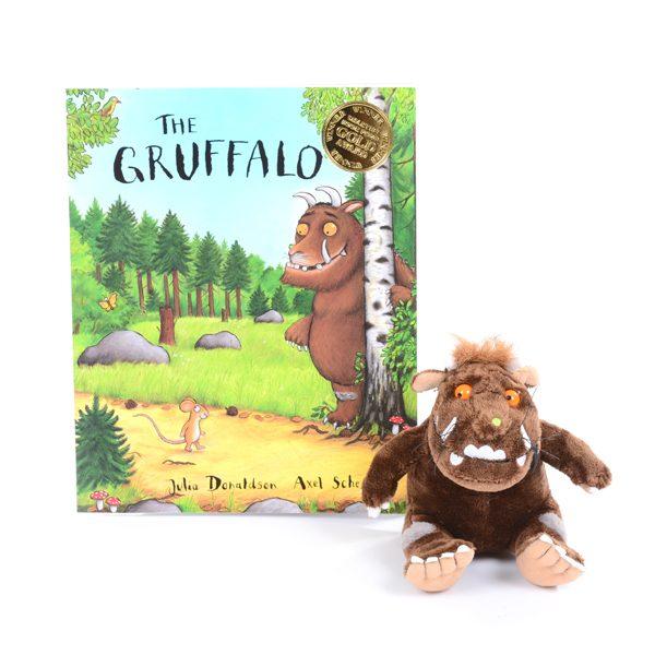 The Gruffalo Book & Character Set