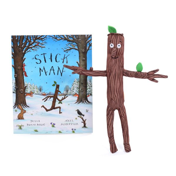 The Stick Man Book & Character Set