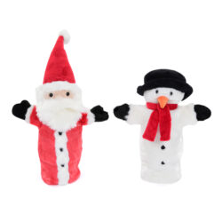 Set of Christmas Hand Puppets