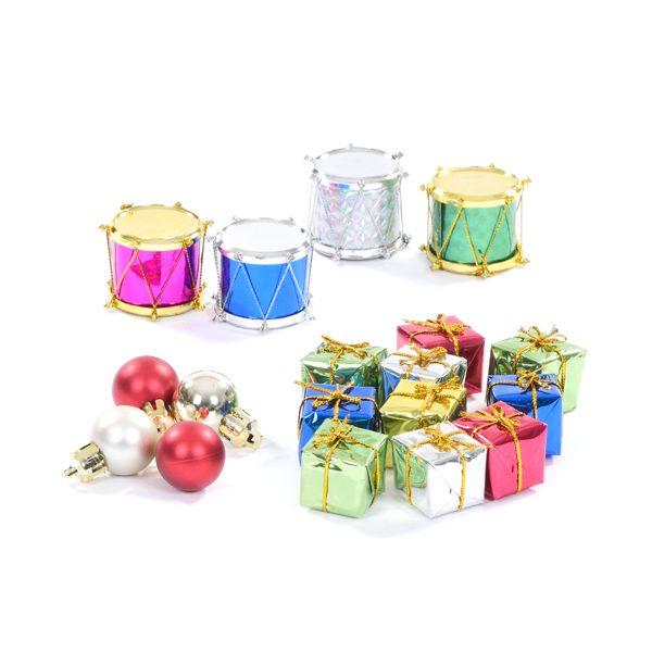 Set of Mini Christmas Decorations