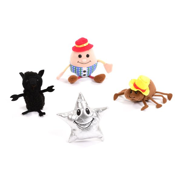 Nursery Rhymes Finger Puppet Set