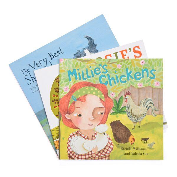 Farm Animal Book Set