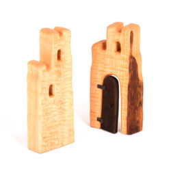 Set of Wooden Towers