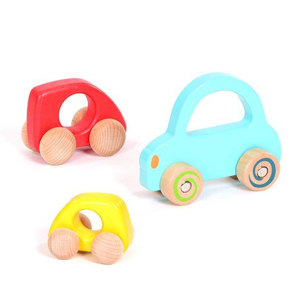 Set of Wooden Vehicles