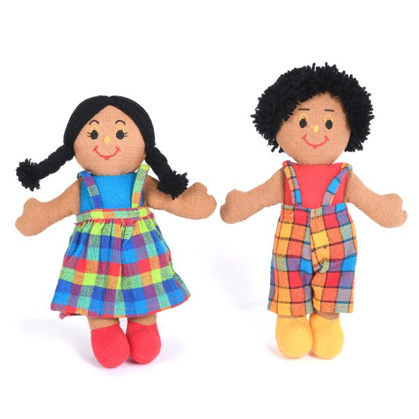 Set of Black Dolls