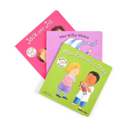 Nursery Rhymes Book Set A