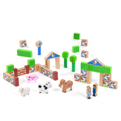 Farm Building Block Set