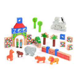 Zoo Building Block Set