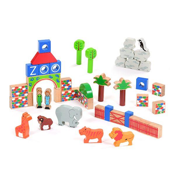 Zoo Building Block Set