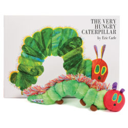 The Very Hungry Caterpillar Book and Character Set