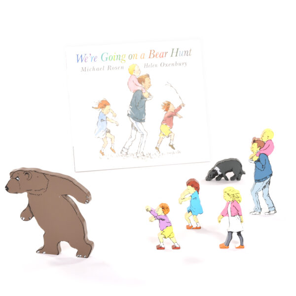 We're Going on a Bear Hunt Book & Character Set
