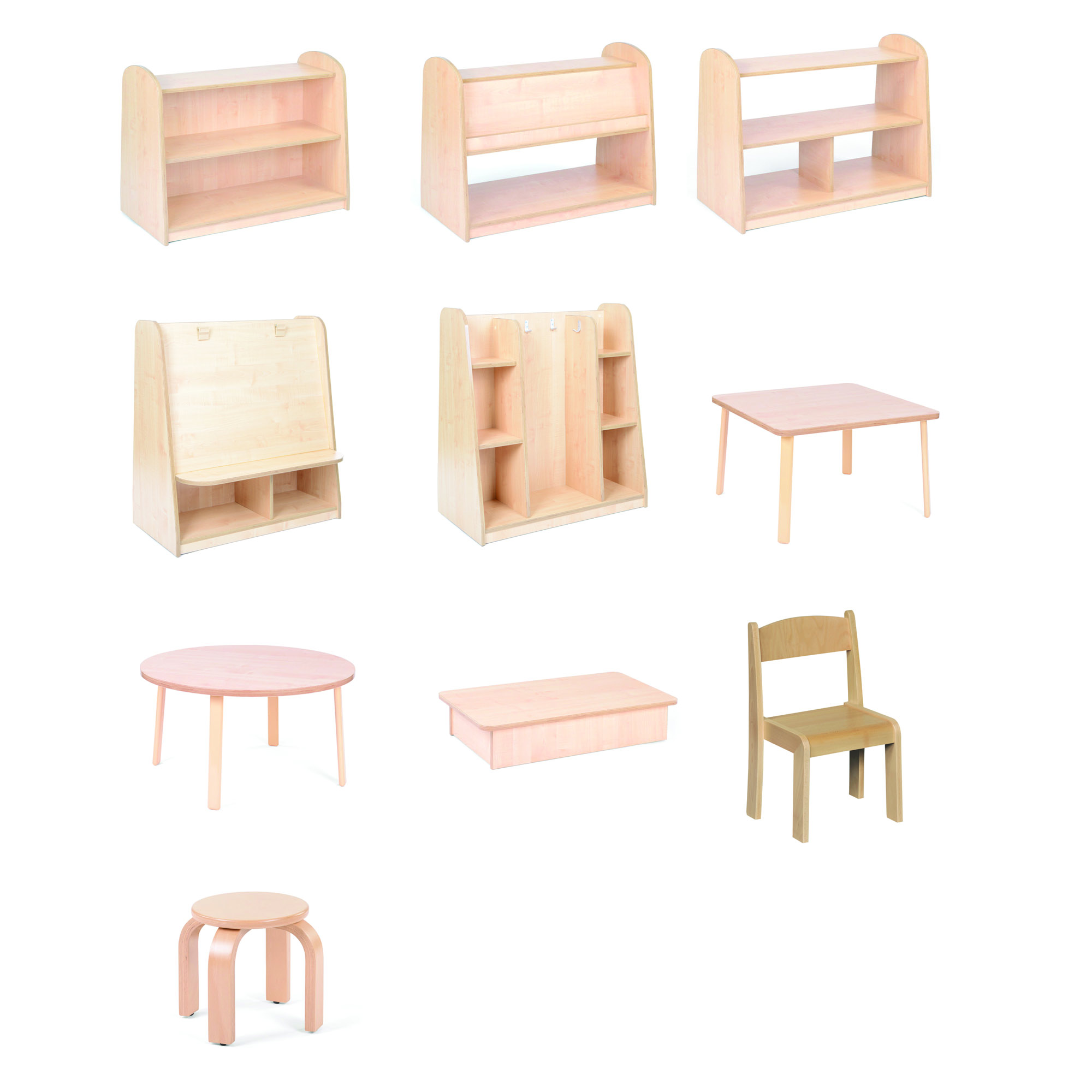 Furniture Package 2: Medium Furniture Only Package 2-3yrs