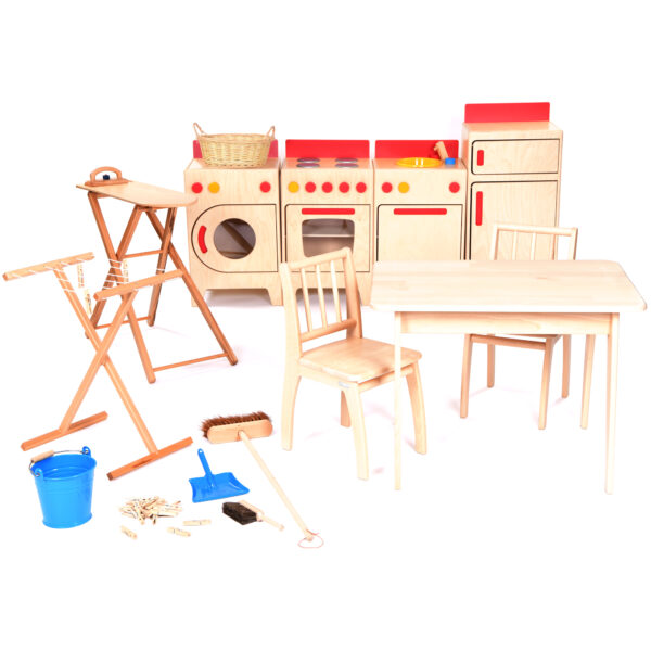 Complete Role Play Domestic Kitchen Area 4-5yrs