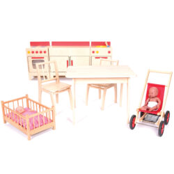 Complete Role Play Domestic Area 3-4yrs