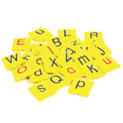 Set of Alphabet Bean Bags (Upper & Lower Case)