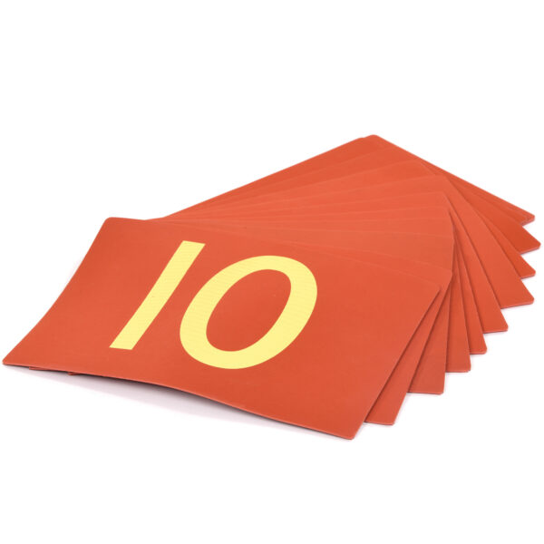 Set of Number Mats 0-10