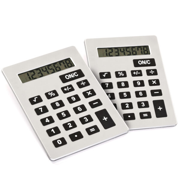 Set of Giant Calculators