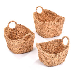 Set of Hyacinth Baskets
