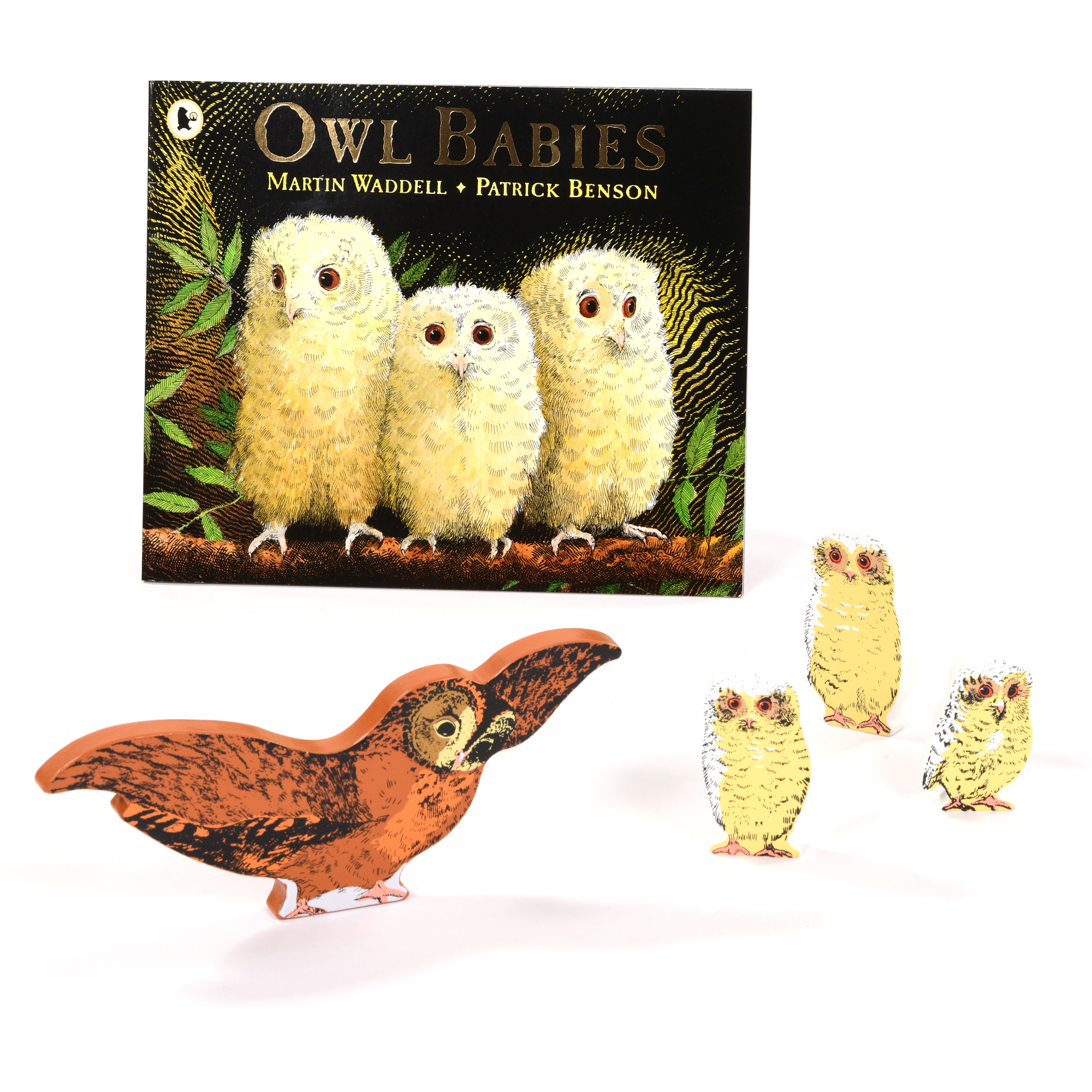 Owl Babies Book & Character Set