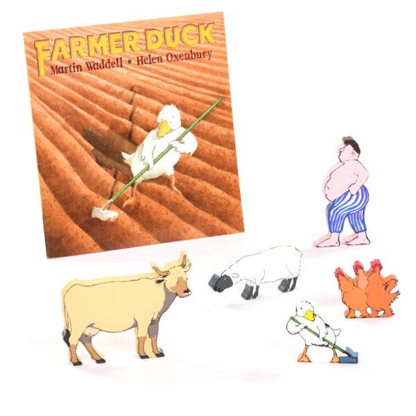Farmer Duck Book & Character Set