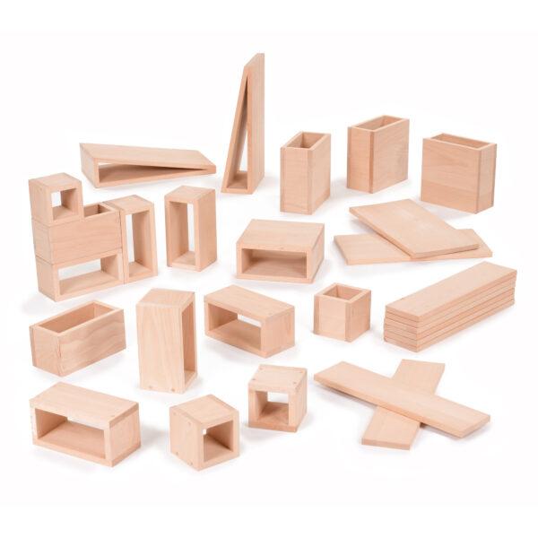 Set of Large Hollow Blocks (28pc)