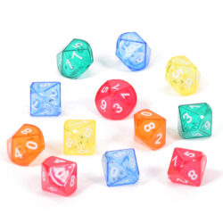 Set of Ten-Sided Dice-in-Dice