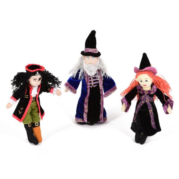 Set of Fantasy Character Finger Puppets