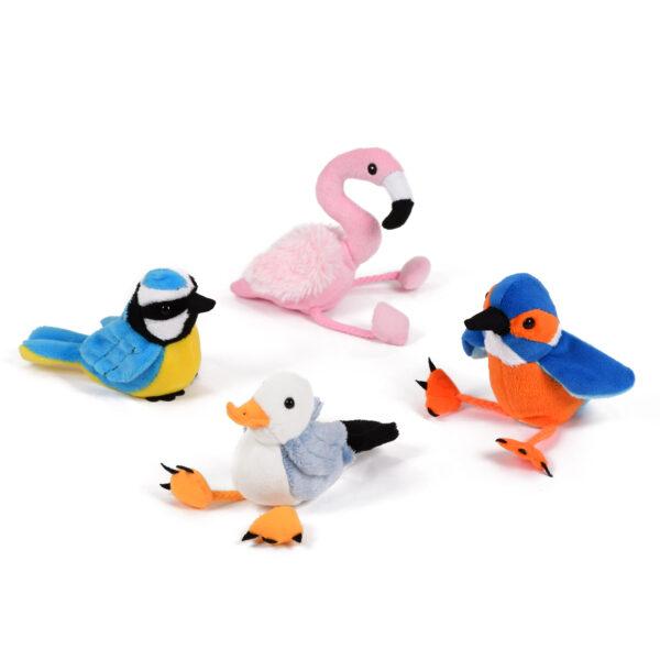 Set of Bird Finger Puppets
