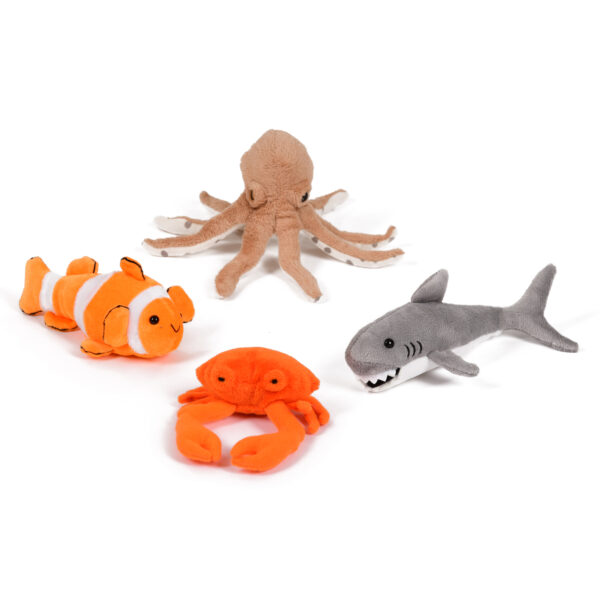 Set of Sea Creature Finger Puppets