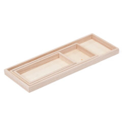 Set of Rectangular Display Trays