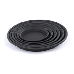 Set of Black Trays