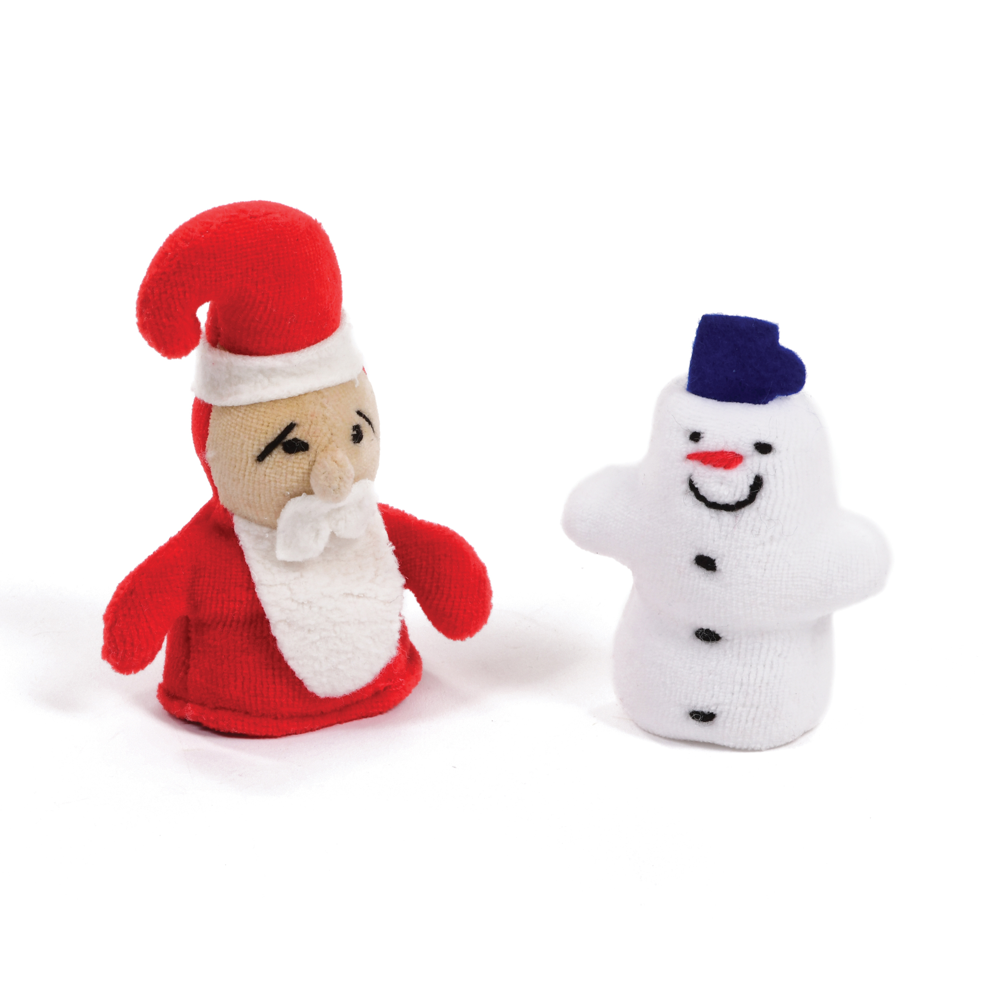 Set of Christmas Finger Puppets