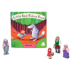 Little Red Riding Hood Book & Character Set