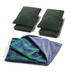 ODDB20 Waterproof Mat, Pillows & Blanket Set