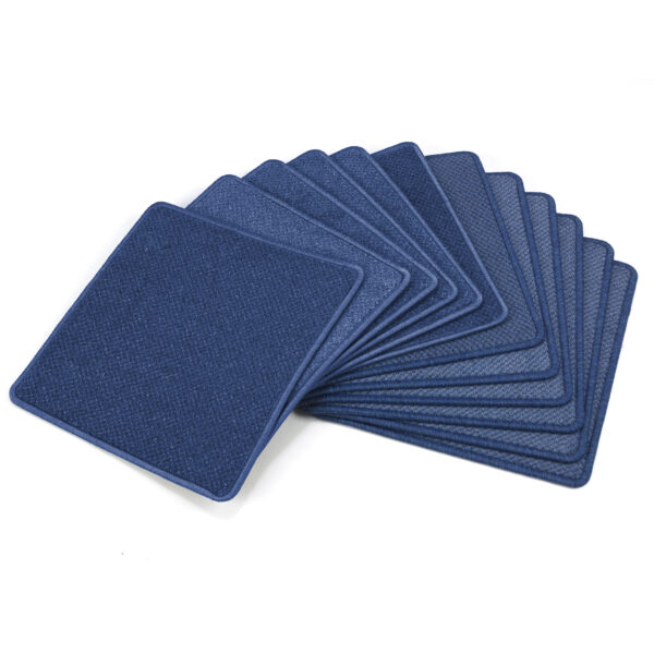 Set of 12 Water Resistant Carpet Tiles