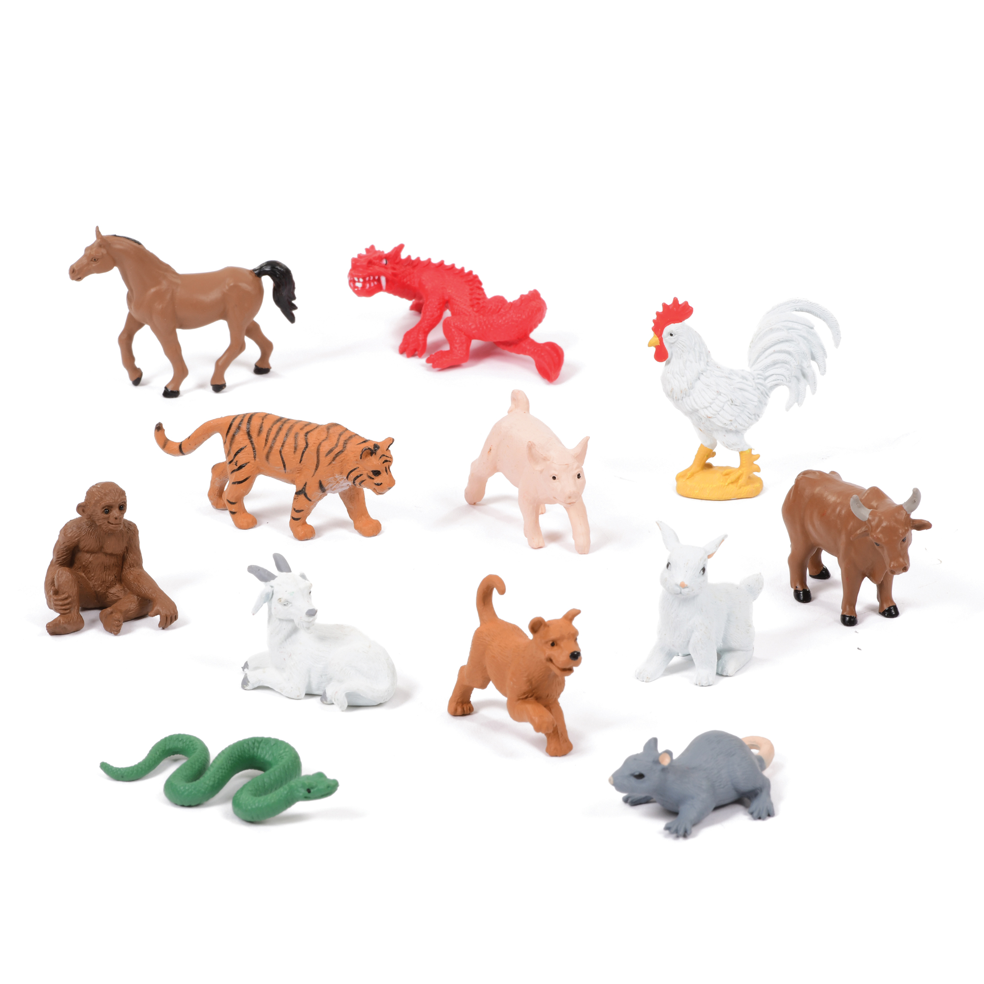 Mini Chinese Zodiac Set