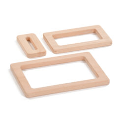 Set of Wooden Focus Frames
