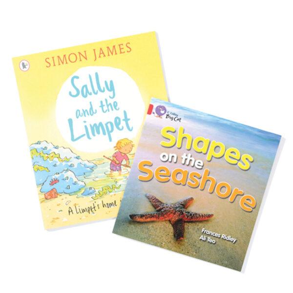 Pair of Seashore Books
