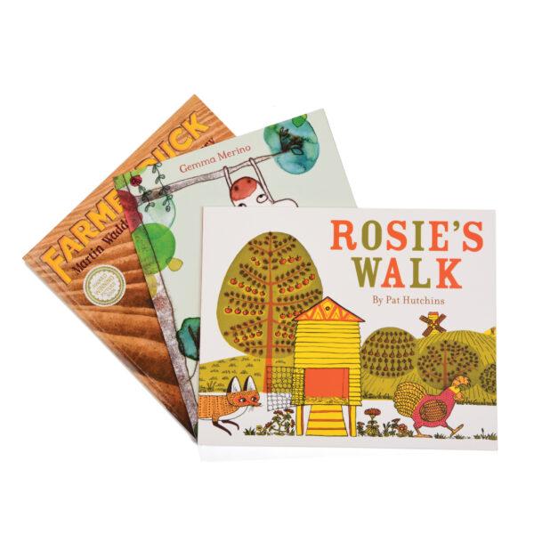 Farm Animal Story Book Set