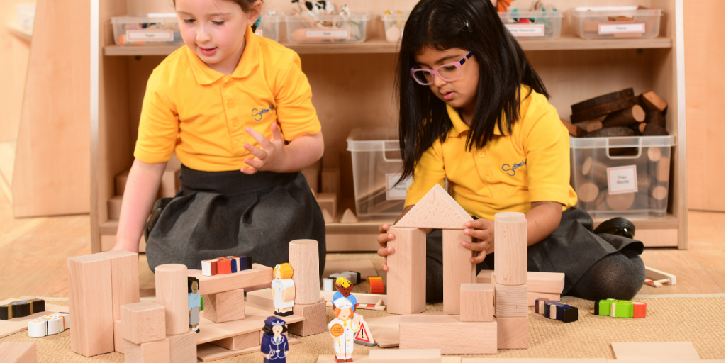 Block Play Alongside Small World Resources