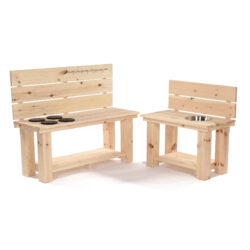 Set of Mud Kitchen Benches